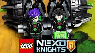 LEGO Nexo Knights 72002 Боевая машина близнецов Обзор