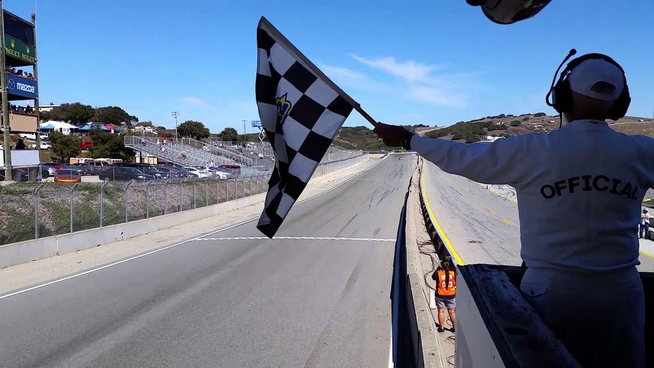 Laguna Seca Raceway >> 2014 SCCA Runoffs EP Final Lap and Checkered Flag - YouTube