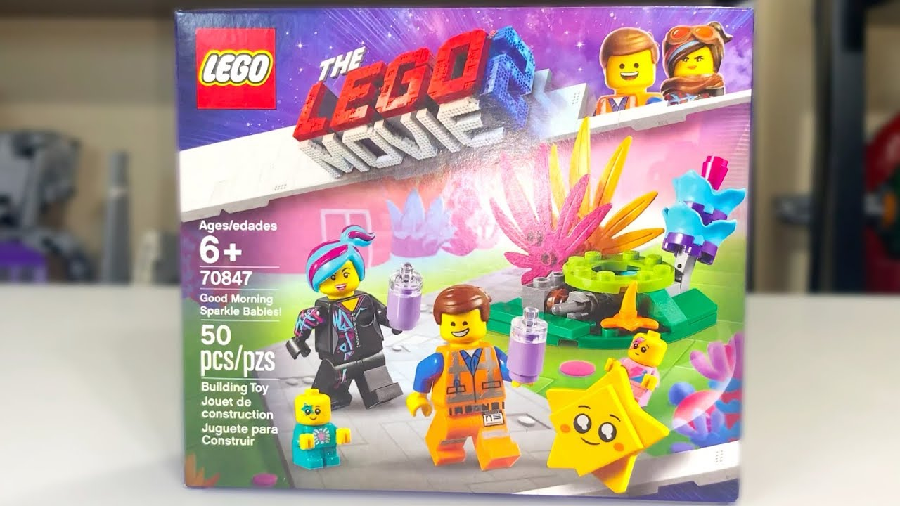 Lego Movie 2  70847 sparkle babies only