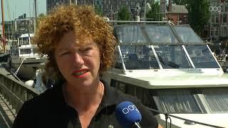 Vaarrecreanten mijden Groningen vanwege warmte