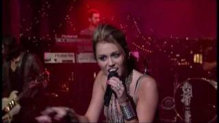 """Miley Cyrus - """"Can't Be Tamed"""" 6/17 Letterman (TheAudioPerv.com)"""