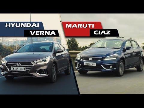 Hyundai Verna vs Maruti Ciaz 2018 - Which One's Best For You?