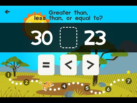 "Animal First Grade Math Games ""Educational Brain Games"" Android Gameplay Video"
