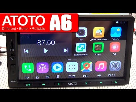 2DIN ATOTO A6 2/32 GB ANDROID CAR RADIO, REVIEW, INSTALLATION, TESTS, LAUNCHER