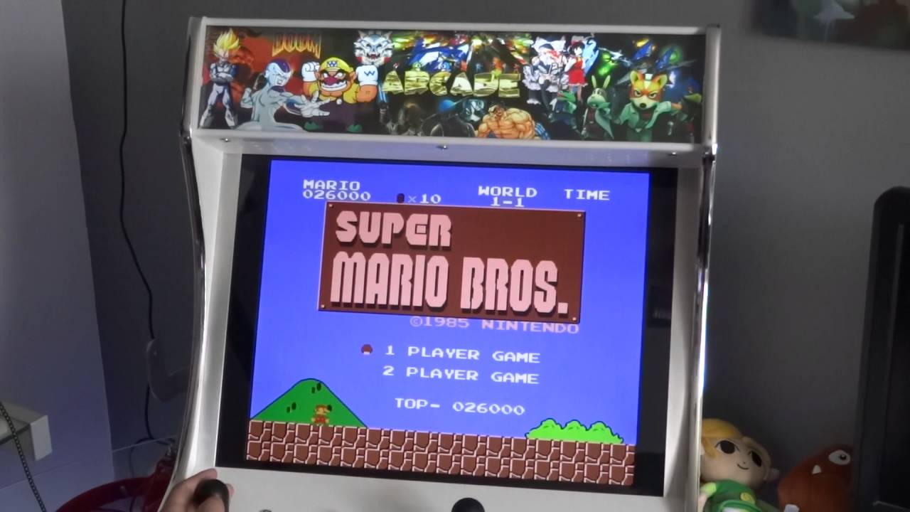 borne arcade super mario