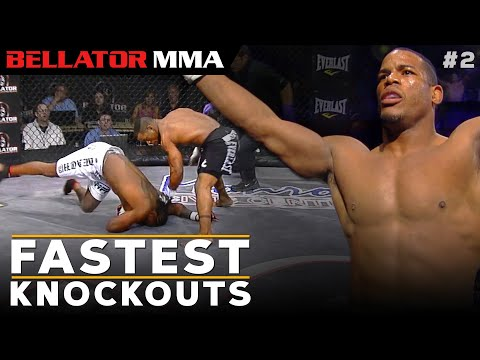 Top Fastest Knockouts #2   Bellator MMA