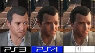 GTA V | PC VS PS4 VS PS3 | GRAPHICS COMPARISON