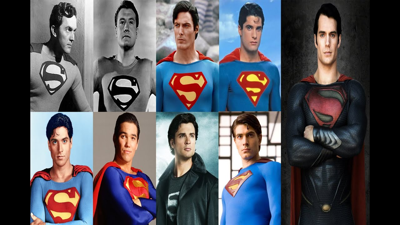 Image result for superman through the years