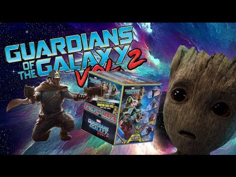 HEROCLIX: Guardians Of The Galaxy Vol. 2 UNBOXING! *CHASE PULLED!*