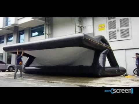 Aeroscreen - Inflatable Movie Screen