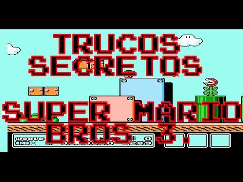 Trucos Secretos: Super Mario Bros.  3 Glitches Nes Mini Classic - Retro Toro