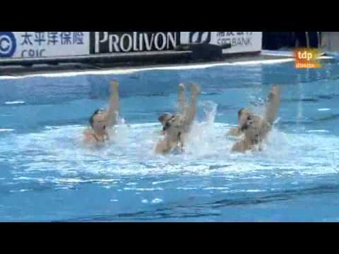Russian Federation Final Team Free, Synchronized Swimming, Shanghai World Championships 2011