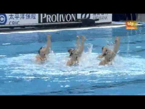 Russian Federation Final Team Free, Synchronized Swimming, Shanghai World Championships 2011