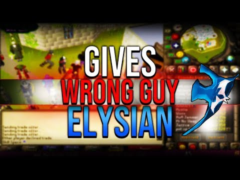 He Gives Wrong Guy The Elysian, HCIM Infernal Cape OSRS, Ironman Cant Believe It OSRS