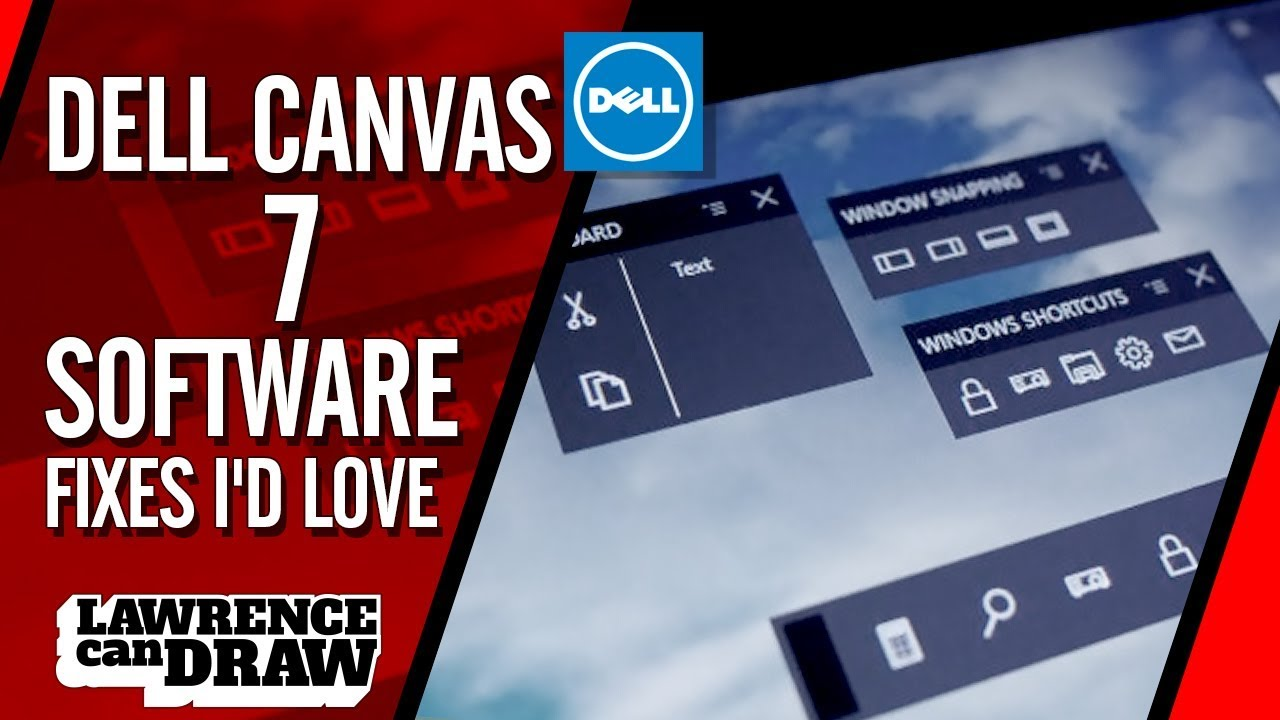 Dell Canvas 27 - 7 software fixes I'd love - YouTube