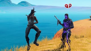 OG SKINS bullying a NO SKIN then he showed his GHOULTROOPER and what happened..! (Fortnite)