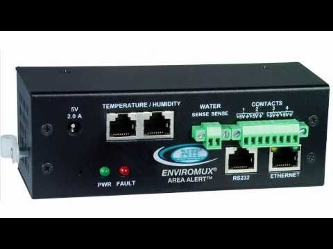 ENVIROMUX MINI - Installation & Mounting into a Server Rack