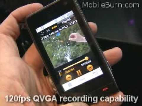 lg ku990 viewty - iphone theme v3.0