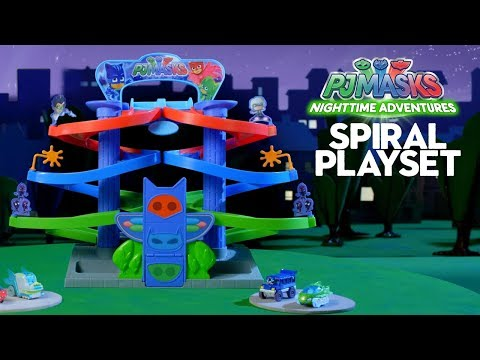 JUST PLAY'S PJ MASKS NIGHTTIME ADVENTURES DIE-CAST PLAYSET! | A Toy Insider Play by Play