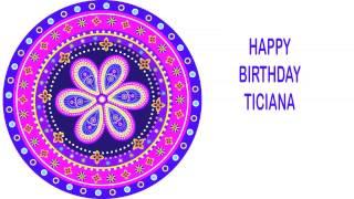 Ticiana   Indian Designs - Happy Birthday