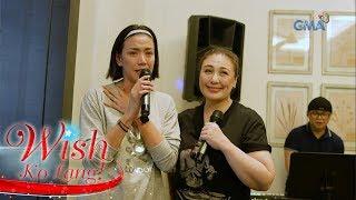 Wish Ko Lang: Rhea Santos, nakipagbiritan with the Megastar!