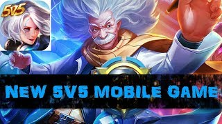 NEW 5v5 MOBA GAME - Battlefield of Eternal (Android/IOS)