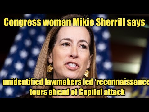 Mikie Sherrill says unidentified lawmakers led 'reconnaissance ...
