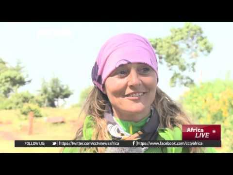 Adrenaline Sport finds rare popularity in Kenya's highland valley
