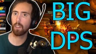 Asmongold Shows How To Do Big Dps In Classic Wow Dungeon Farming