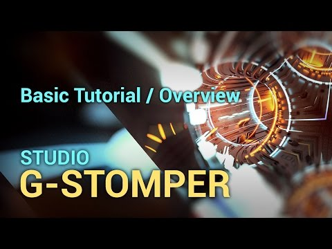 Basic Tutorial / Overview, G-Stomper Studio 4.1