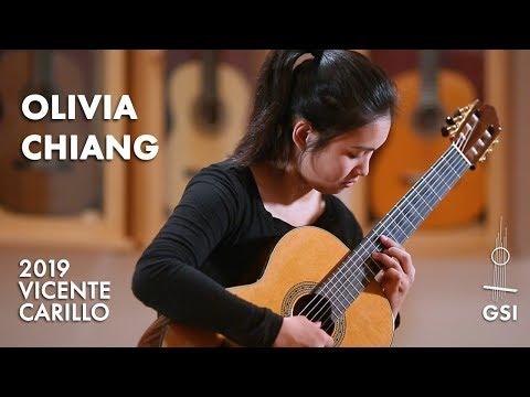 "Ponce's ""Tres Canciones Populares Mexicanas: III. La Valentina"" Played By Olivia Chiang"