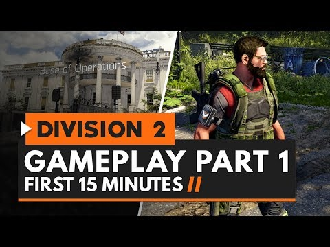 The Division 2 | Gameplay Part 1 - First 15 Minutes
