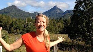 Climb Mt Warning Australia - near Byron Bay - Where