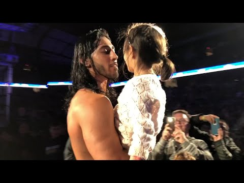 Mustafa Ali's ringside reunion with his daughter will melt your heart