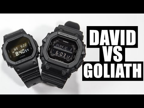 DAVID VS GOLIATH | G-SHOCK DW-5600BB-1 VS KINGKONG GX-56BB-1