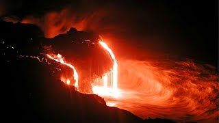 Gates of hell open on Hawaii HD Video