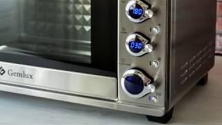 Конвекционная печь GEMLUX GL-OR-2045LUX / Обзор настольной мини-печи с конвекцией