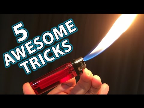 Thumbnail: 5 Awesome Magic Tricks Hacks with Lighters