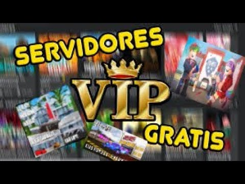 Server Vip Totalmente Gratis Roblox Youtube