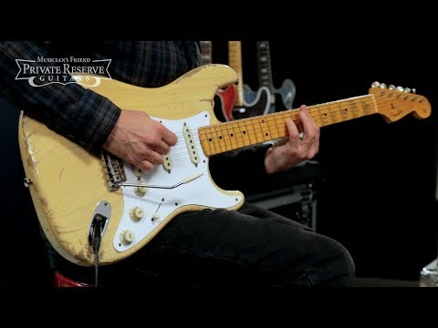 Fender Custom Shop Relic 1957 Stratocaster Electric Guitar, Masterbuilt by Dale Wilson