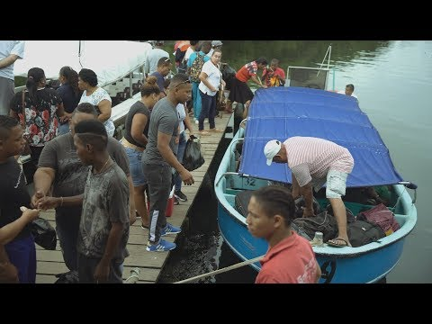 A perilous passage for migrants between Colombia and Panama