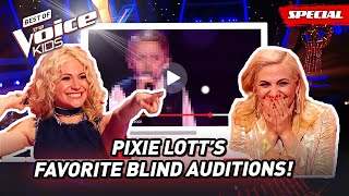 The Favorite Blind Auditions of Coach Pixie Lott of The Voice Kids UK! 😍  Top 10