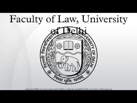 Faculty of Law, University of Delhi