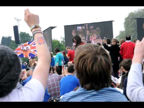 Jerusalem sung in Hyde Park at the Royal Wedding 2011.avi