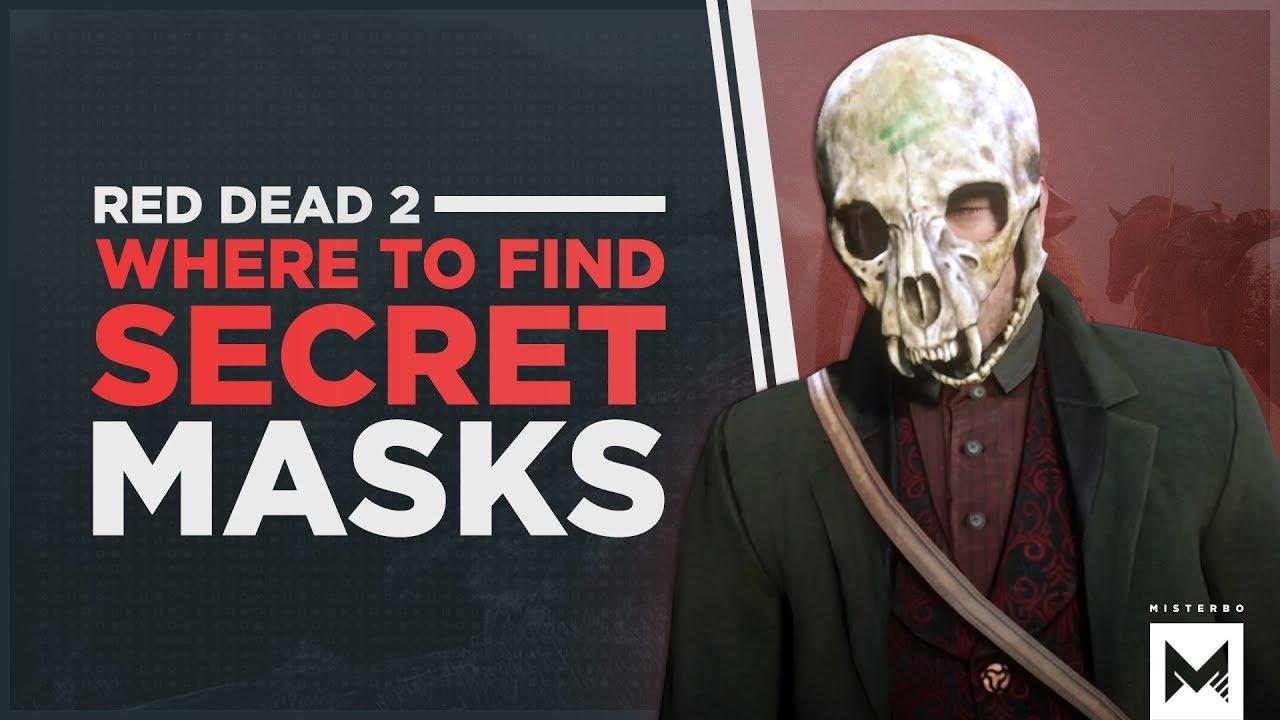 red dead redemption 2 skull mask
