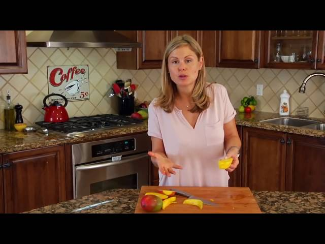 Ako správne nakrája? Mango -  How to properly slice Mango