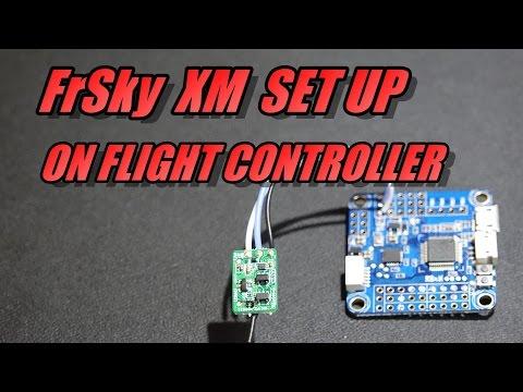 connect-frsky-xm-&-xm-plus-receiver-to-flight-controller