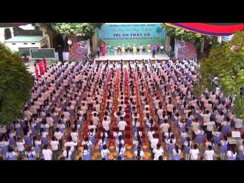 Clip nhảy dân vũ của hơn 600 học sinh trường Tiểu học Đinh Tiên Hoàng