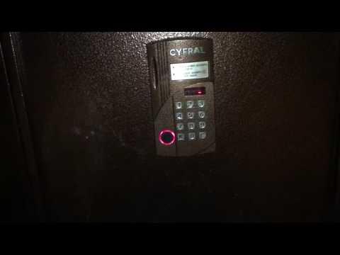 Как открыть домофон Cyfral CCD-2094M без ключа