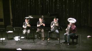 Atlanta Symphony Low Brass Excerpts from Fountains of Rome at Columbus State University